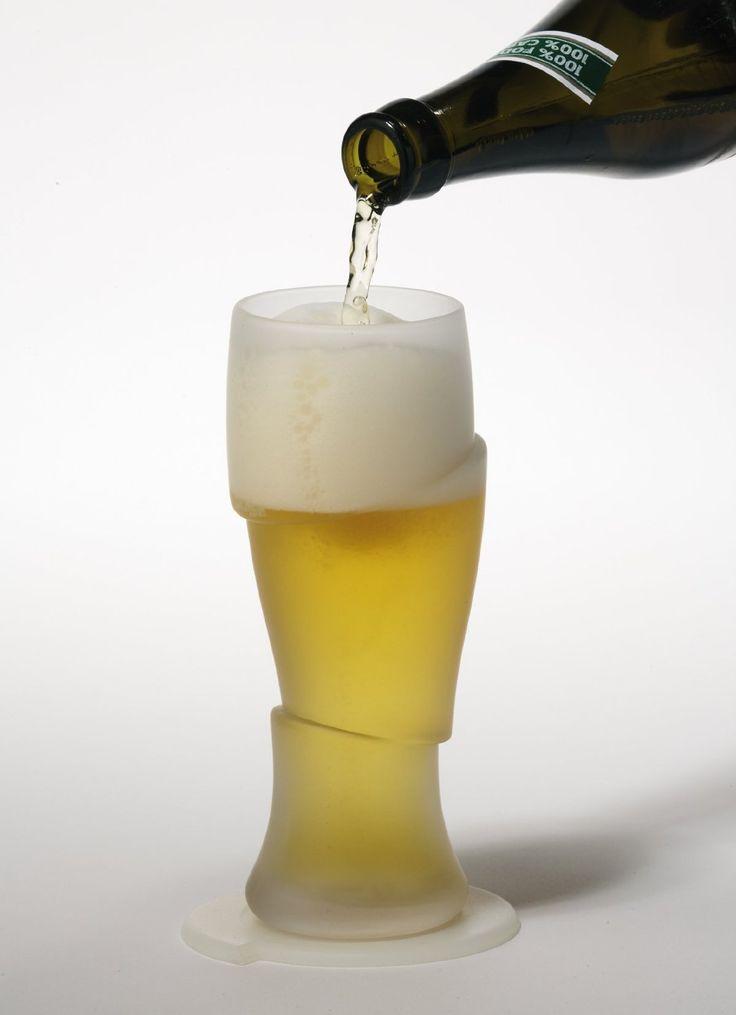 """Sliced Cold Beer Glasses """"動詞"""" CONCEPT/ 切割"""