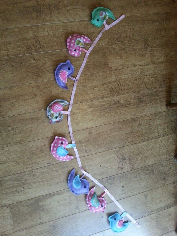 Bethany's bunting by mum