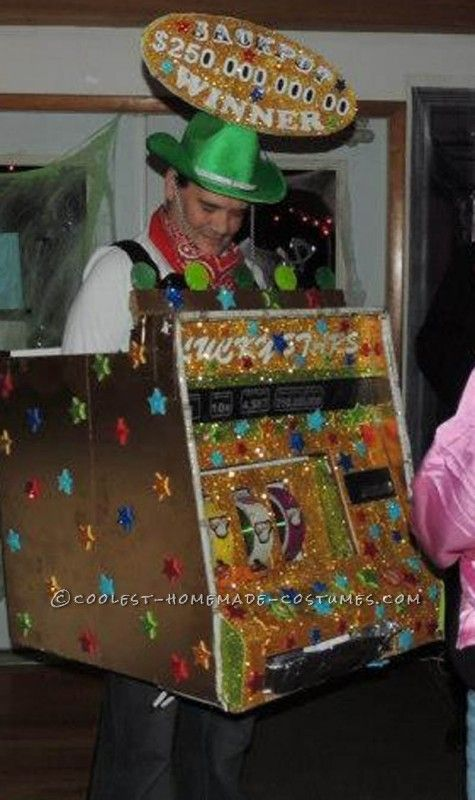 Slot machine costumes