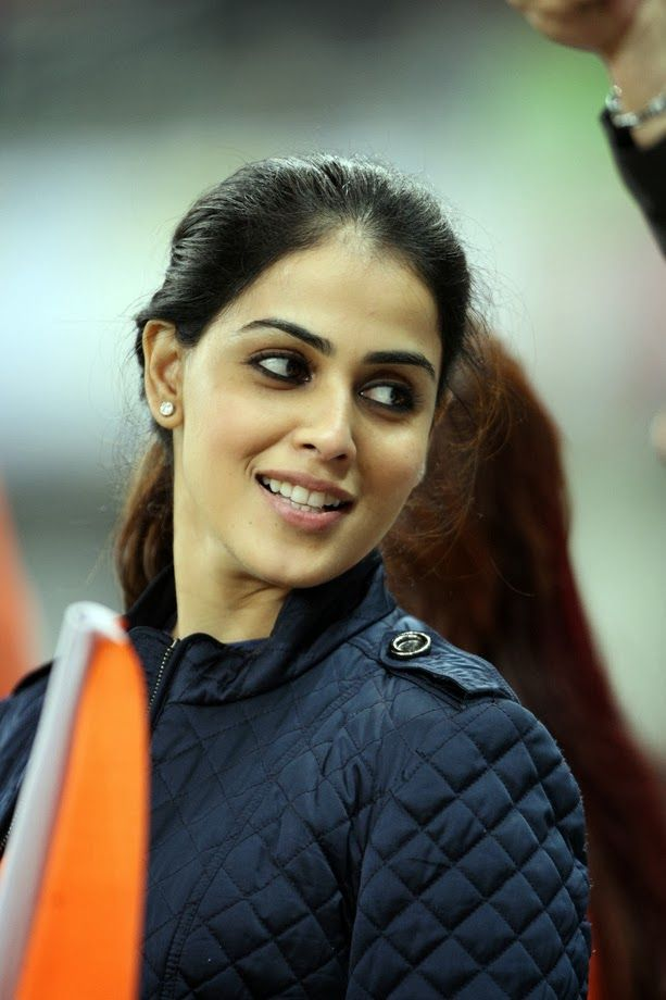 Genelia Latest Unseen Hot Photos In Beautiful Blue Dress - Tollywood Stars