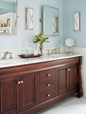 More Stylish Bathroom Color Schemes