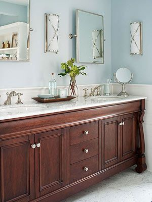 More Stylish Bathroom Color Schemes