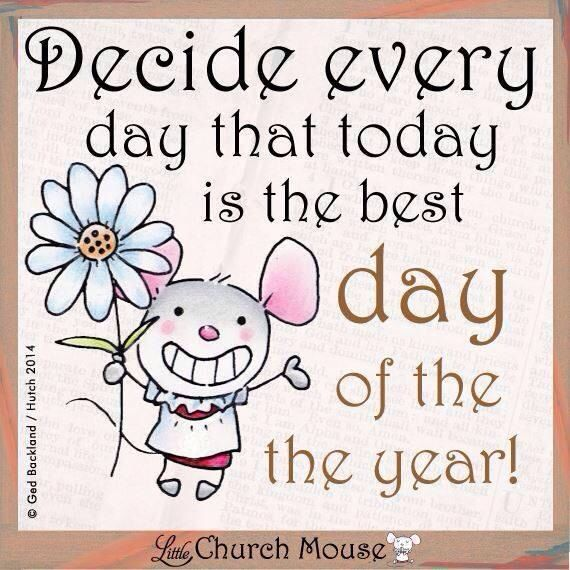 Decide every day that today is the best day of the year :) Want to see how well you are doing with your nutritional habits? Get your FREE No Obligation Wellness Evaluation TODAY! www.WellnessScore.co.uk