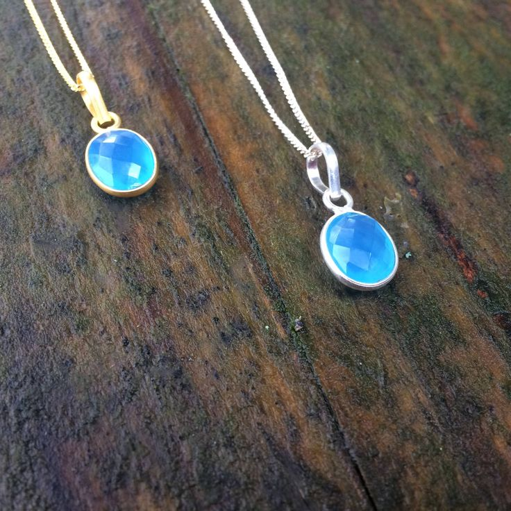 Excited to share the latest addition to my #etsy shop: Stirling Silver Blue Chalcedony Necklace http://etsy.me/2F4egBk #jewellery #necklace #blue #kirifairtrade #silver #oval #artdeco #fairtrade