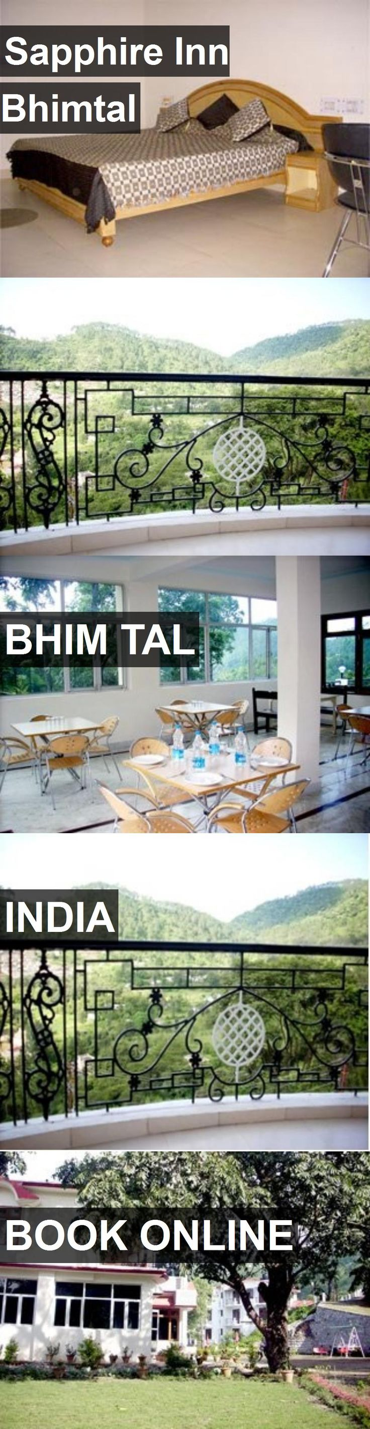Hotel Sapphire Inn Bhimtal in Bhim Tal, India. For more information, photos, reviews and best prices please follow the link. #India #BhimTal #travel #vacation #hotel