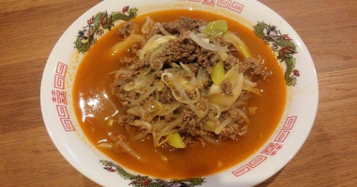韓国冷麺の温かいバージョンです。