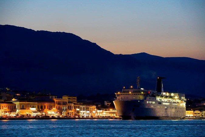 Chios harbour, Northeastern Aegean