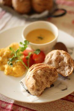 Creamy pumpkin soup, Pumpkin soup and Scrambled eggs on Pinterest