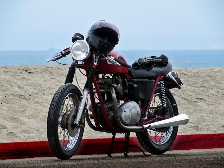 Nothing says summer more than a California Cafe Triumph!