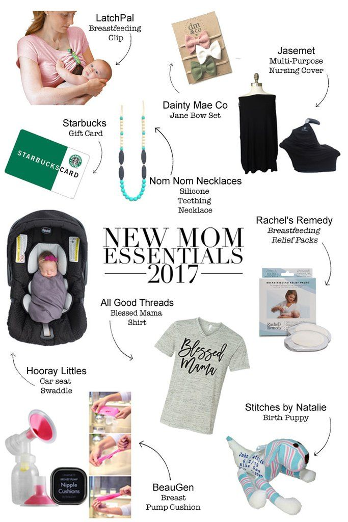 2017 New Mom Essentials | New baby products, New moms ...