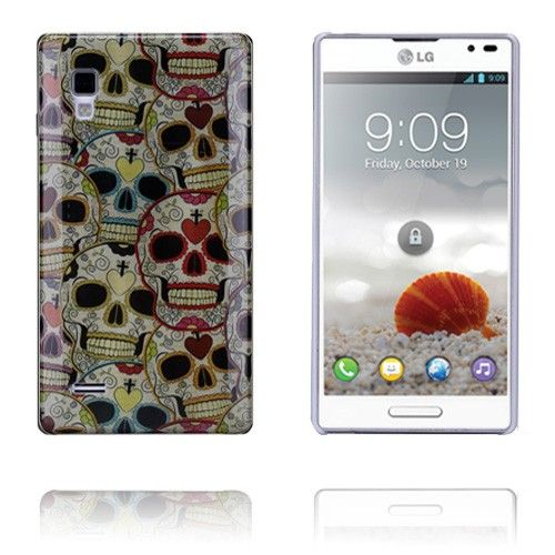 Graffiti (Skulls) LG Optimus L9 Cover