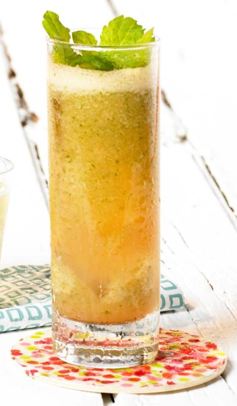 Meloencocktail met tequila en munt | Colruyt