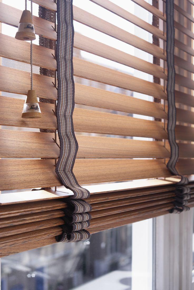 Beautiful FSC certified wood blinds from Luxaflex®