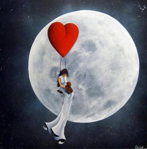Whimsical Moon: