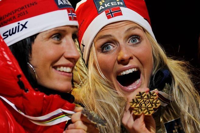 Therese, gull Ski-VM
