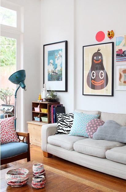 happy living (via Interior inspirations) - my ideal home...