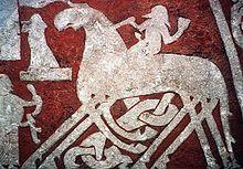Svadilfare er i den nordiske mytologi en prægtig jættehingst.  Den slæbte på et år stenene til muren, der omgiver Asgård.  Aserne havde indgået et væddemål med Svadilfares ejer om, at hvis han kunne bygge muren på ét år, ville han få både solen og månen.  Desuden skulle han have Freja.  Da det så ud til at lykkes for ham med hjælp fra hesten, måtte Loke forhindre det.  Han omskabte sig til en hoppe for at lokke hingsten væk fra arbejdet.  Det lykkedes i sidste øjeblik, og jætten tabte…