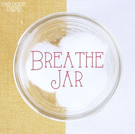 "Make Your Own ""BREATHE JAR"" To Relieve Sinus Congestion 