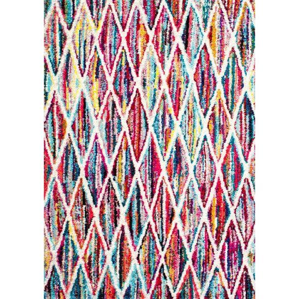 Beautiful nuLOOM Contemporary Rainbow Striped Kids u Area Rug u