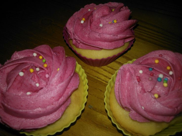 i miei cup cake rosa...