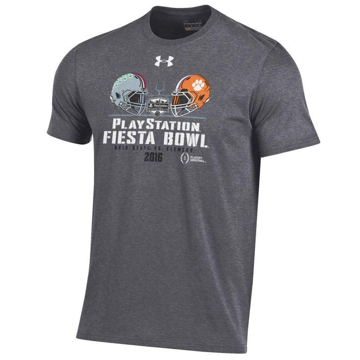 2016 Fiesta Bowl Under Armour Clemson Ohio State Football Playoffs T-Shirt
