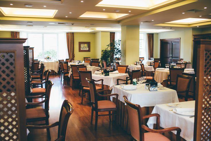 Restaurante El Jardín. Gran Hotel y Balneario de Puente Viesgo.