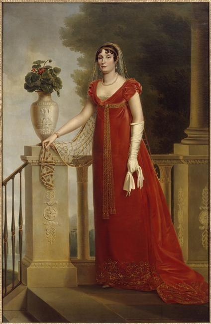 1810 Portrait of Elisa Bonaparte