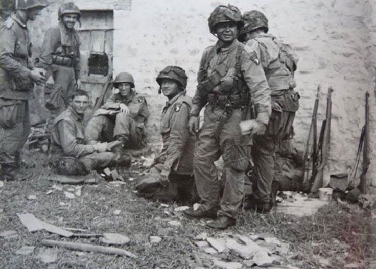 d-day casualties airborne