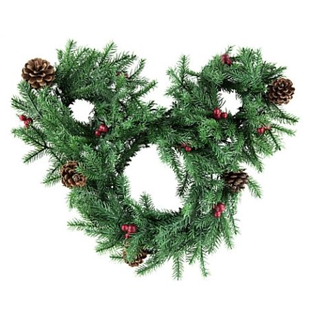 Disney Christmas Holiday Wreath - Mickey Mouse Icon - Light-Up