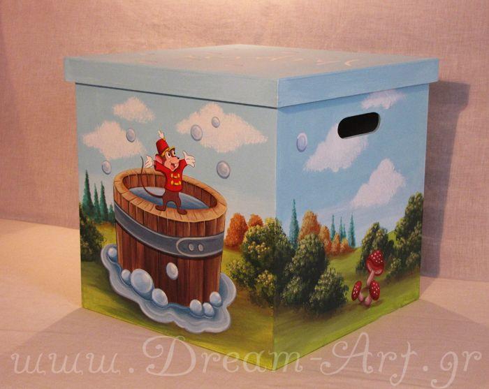 Ζωγραφική σε κουτί βάπτισης