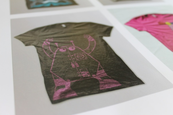 T-Shirt Designs by Tomos Wilding, via Behance