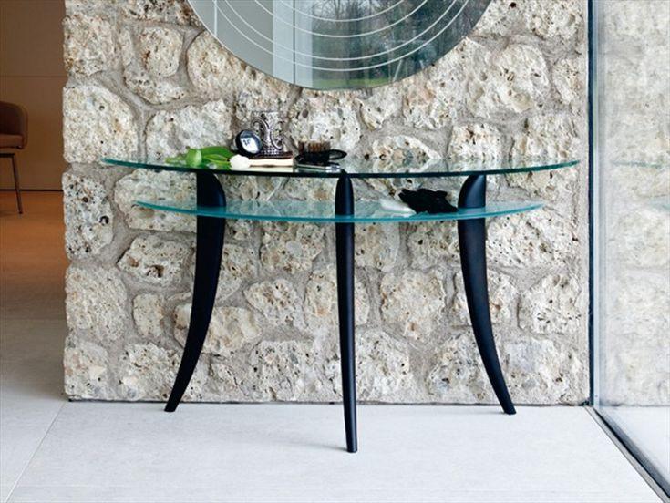 Table console en cristal BLADE | Table console - Cattelan Italia