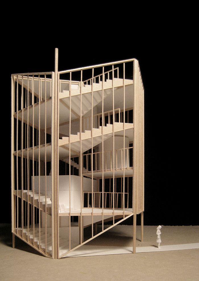House of 7 Piles : ceruzzi and murphy projects #woning #ruimteschakeling #volume #trap
