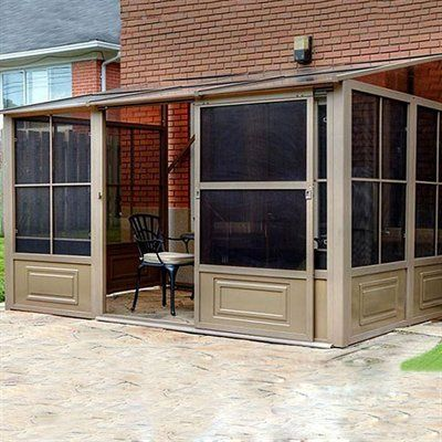 Gazebo Penguin W1207 Four Seasons 8ft X 12ft Add A Room