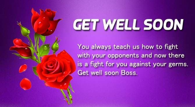 Get Well Soon Messages For Boss With Images Message For Boss