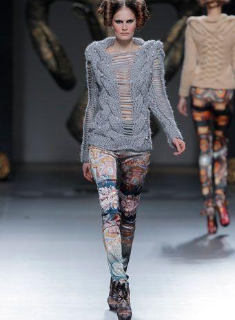 Maya Hansen. AW13/14 - 'Edelweiss'. LOOK 03 - AW13/14