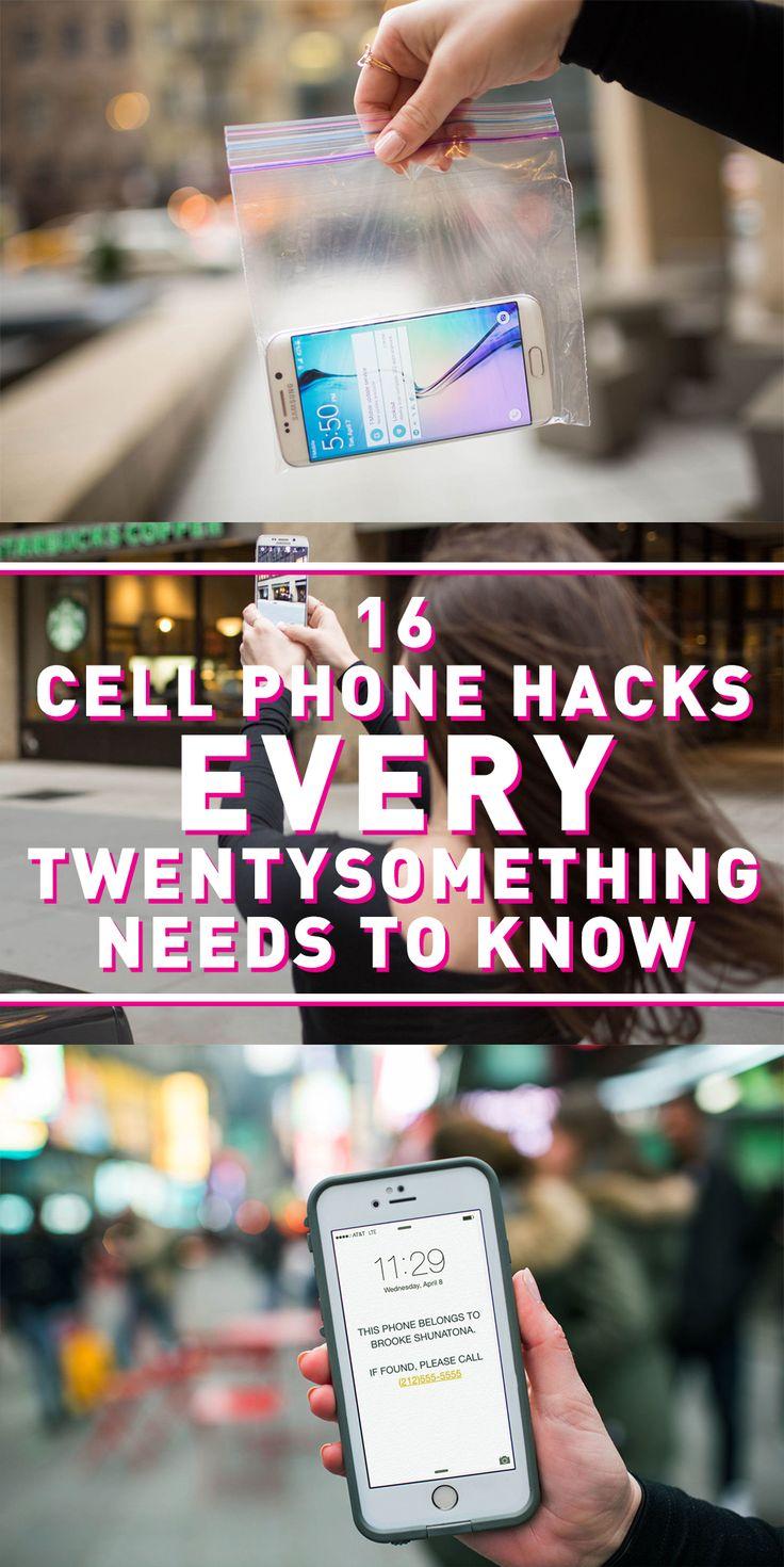 16 Cell Phone Hacks Every Twentysomething Needs to Know