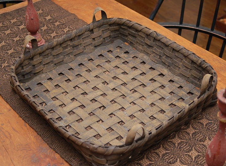 17 best images about things crafted from tobacco sticks on Longaberger basket building for sale