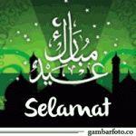 Gambar Bergerak Selamat Hari Raya Idul Fitri 1438 H