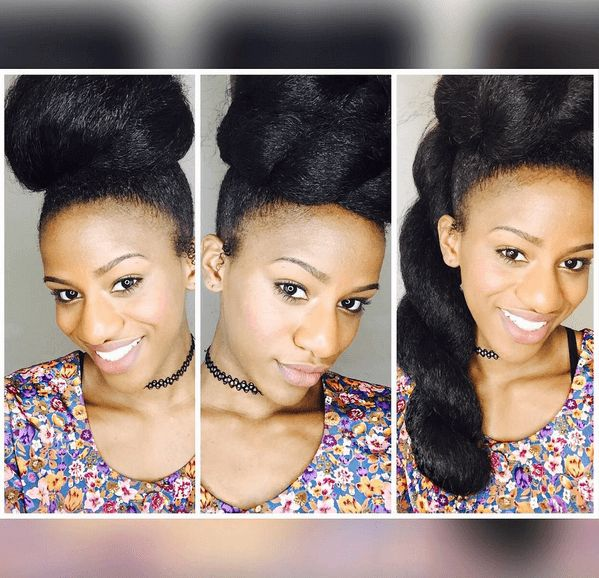 Swell 1000 Ideas About Faux Bun On Pinterest Natural Hair Protective Hairstyles For Women Draintrainus
