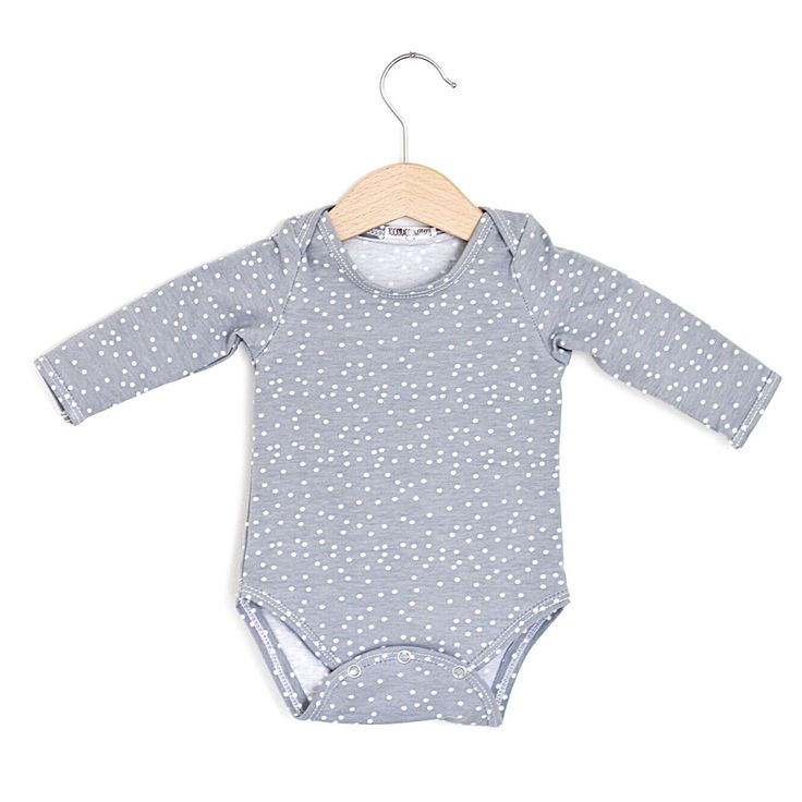 Grey Dots Organic Cotton Baby Onesie, long sleeve onesie, baby bodysuit, baby onepiece by RockyRacoonApparel on Etsy https://www.etsy.com/au/listing/477768066/grey-dots-organic-cotton-baby-onesie