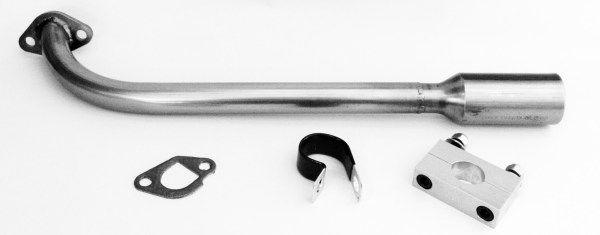 Shotgun Header Kit w/ RLV Muffler - Doodle Bug DB30S | Mini Bike