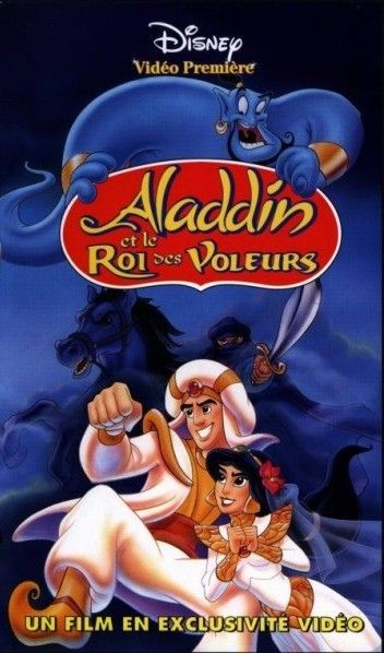 Affiche du dessin animé Aladdin et le Roi des Voleurs sortie en 1996