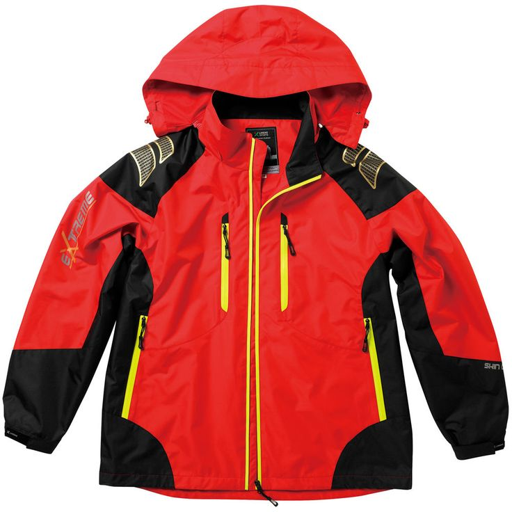 Windproof Waterproof Soft Shell Jackets Outdoor Camping Travel Hoodie Coats RED #hellobincom #WaterproofWindproof