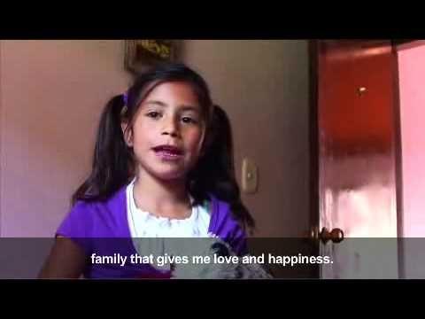Momentos de familia - los niños cuentan la importancia de una familia