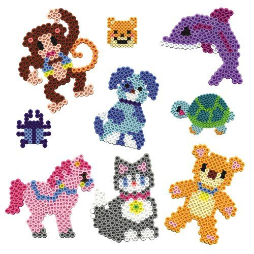 Animals hama perler beads