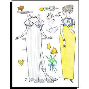 best emma images emma emma jane austen and  lovely paperdoll illustration of jane austen s emma perfect for framing