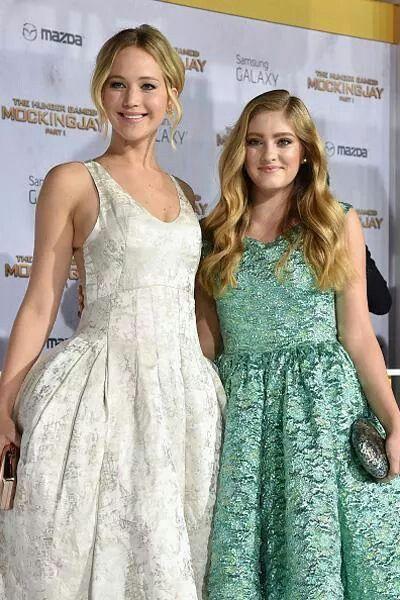 Jennifer Lawrence & Willow Shields ♡