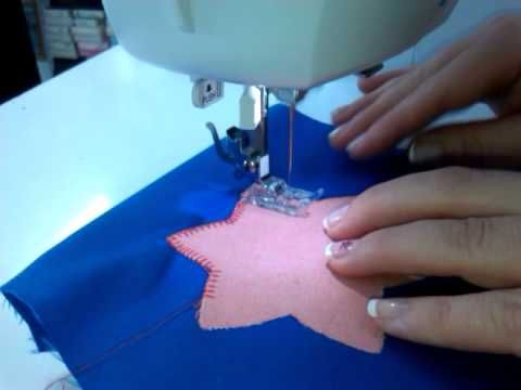 Surfilar remallar filetear con maquina de coser casera - YouTube