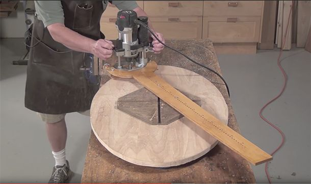 Elliptical Router Jig for Any Size Oval - Popular Woodworking Magazine